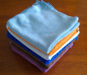 Microfiber Towels Cleaning Cloth Wipes pictures & photos