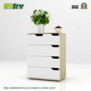 4-Tier Storage Cabinet with Drawers (WS16-0214)