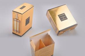 Gold Foil Papermake up Color Folding Paper Box pictures & photos