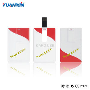 Promotional Gift Full Color Printing Credit Card USB Flash Drive