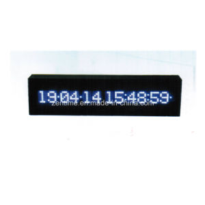 Electronic LED Digital Desk Calendar Clock pictures & photos