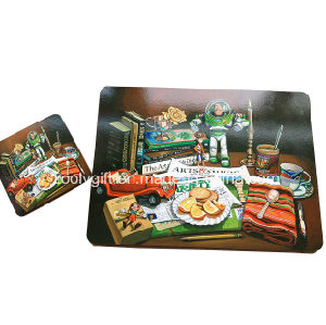 Promotional Cork Cup Placemats and Coaster Set pictures & photos