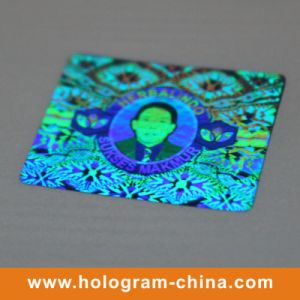 Custom Rainbow DOT Matrix Hologram Stickers pictures & photos