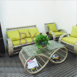 by-480 Indoor and Outdoor Innovative PE Sofa Se pictures & photos