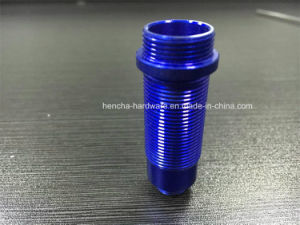 CNC Part of Blue Painting Bolt