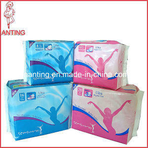 High Absorbency Sanitary Napkin, Disposable Cotton Sanitary Napkin, Napkin for Feminine pictures & photos