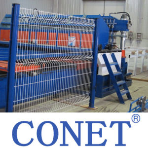 Conet 3-6mm V Type Bending Wire Mesh Fencing Machine with Factory Price pictures & photos