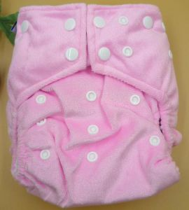 Minky Cloth Diaper (OEM) pictures & photos