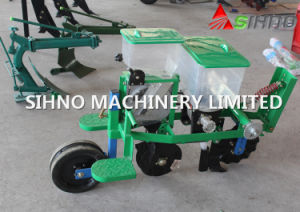 Single Row Grain Corn Precision Planter/Corn Seeder Working with Walking Tractor pictures & photos