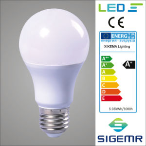 A60 7W 9W 12W 220V LED Light Bulbs pictures & photos