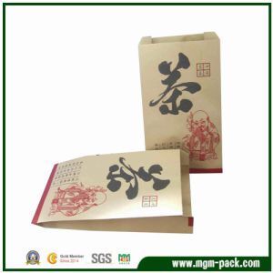 China Factory Price Brown Paper Gift Bag for Packing Tea pictures & photos