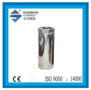 Double-Wall Stainless Steel Stove Pipe for Chimney Pipe pictures & photos