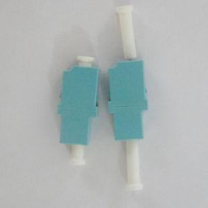LC Simplex Aqua Fiber Optic Adapter pictures & photos