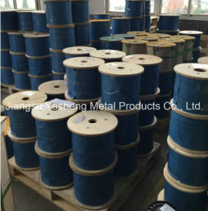 Stainless Steel Wire Rope with PVC Coated pictures & photos