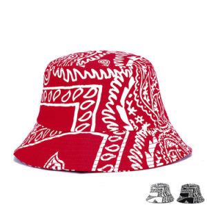 Fashion Printed Cotton Twill Sun Visor Bucket Hat (YKY3208) pictures & photos