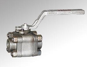 Three Picec Forged Steel Ball Valve (DTV-Q001)
