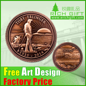 Custom Zinc Alloy Metal Challenge Coin for Gift pictures & photos