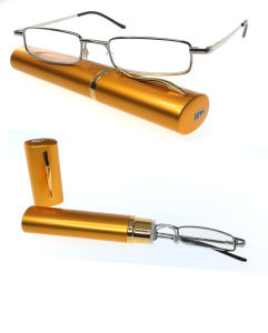 Hot Sale Russia Mini Reading Glasses with Pen Case (RD2134) pictures & photos