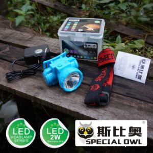 Multicolour, 1W/2W LED Headlamp, 1PC Rechargeable Lithium Battery, Powerful Beams of Lighting Floating Light, Fishing Light pictures & photos