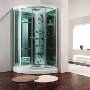 Monalisa Green Glass Deluxe Steam Room Shower Box (M-8266) pictures & photos