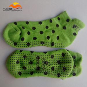 Rubber OEM Made Logo Rubber Anti Skid Non Slip Sock