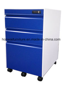Modern Simple Design Steel Office Filing Movable Cabinets