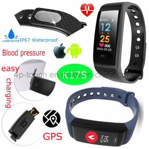 New Waterproof Sport Bluetooth Smart Bracelet with Multi-Functions K17s pictures & photos