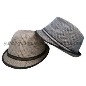 Men′s Cotton Gentleman Fedora Hat, Sports Baseball Cap pictures & photos