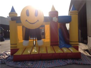 Inflatable Products Smile Face Inflatable Bouncy Castle pictures & photos