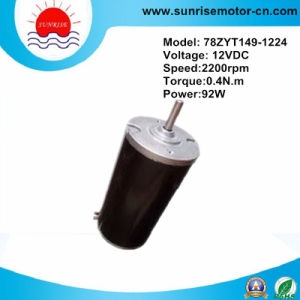 12V 0.4n. M 92W Permanent Magnet DC Motor pictures & photos