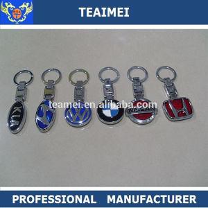 Various Chrome Car Logo Keychain Metal Car Logo Key Ring pictures & photos