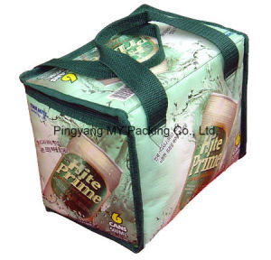 Full Color Printing BOPP Laminated PP Woven Lunch Bag for Picnic pictures & photos