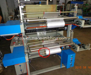 Double Layer Shopping Food Roll Bag Making Machine (HSLJ-800) pictures & photos