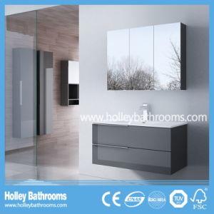 European Hot Selling Modern Bathroom Vanity with Mirror Cabinet (BF113N)