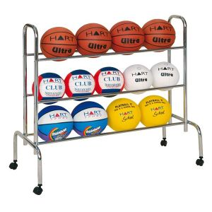 Sports Courts Movable Rack Ball Storage Display Carts pictures & photos