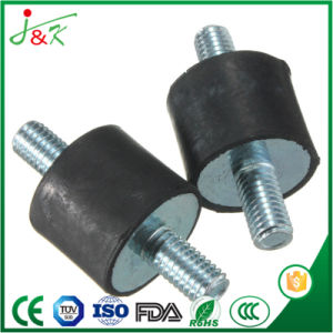Bell-Shaped Rubber Buffer with Galvanized Steel for Shock Absorber pictures & photos