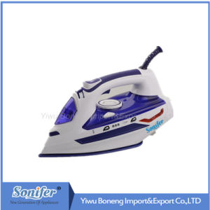 Hot-Selling Sf-9010 Travelling Steam Iron Electric Iron with Ceramic Soleplate (Blue)