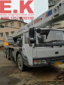 25ton Used Zoomlion Hydraulic Truck Crane (QY25V) pictures & photos