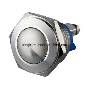 16mm Stainless Steel Waterproof Momentary Push Button Switch pictures & photos