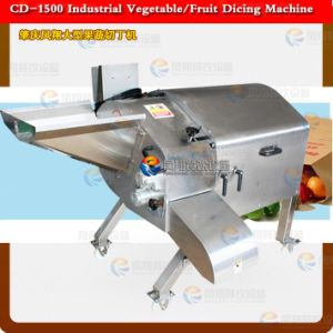 Vegetable Dicing Machine for Processing Cut Carrot, Potato, Taro, Fruit, Onion, Mango, Pineapple, Apple, Ham, Giantarum, Pawpaw pictures & photos