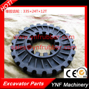 Elastic Rubber Coupling G80he for Air Compressor 335 *24*12 pictures & photos