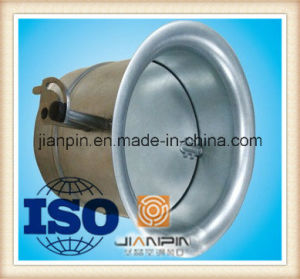 Air Volume Bell Mouth Spigot with Round Damper pictures & photos