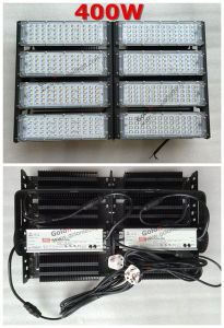 Panel Design 400W LED Grow Light with 5 Years Warranty Meanwell Driver Philipssmd UK Plug Tunnel Flood Light pictures & photos
