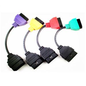 Adaptors for FIAT ECU Scan Diagnostic Cable Four Colors pictures & photos