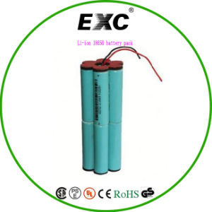 Rechargeable Battery 18650 Battery Pack 2s1p 2200mAh 3000mAh pictures & photos