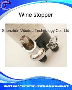Unique Design Metal Wine Bottle Stopper Vbt-K065 pictures & photos