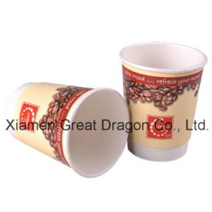1.5-32 Ounce Hot Beverage Paper Cups and Lids (PC11020) pictures & photos