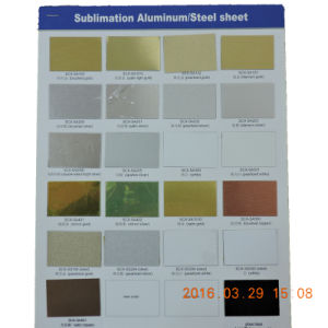 Sublimation Aluminum Blank Sheet with Round Corners pictures & photos