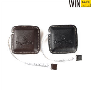 PU Covered ABS Case PVC Sewing Fabric Leather Measuring Tape (RT-129) pictures & photos