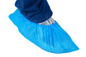 PE Plastic Shoe Cover Disposable pictures & photos